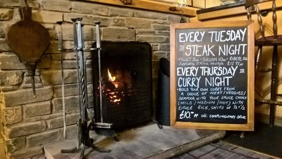 Meigle, UK: Theme Night Specials