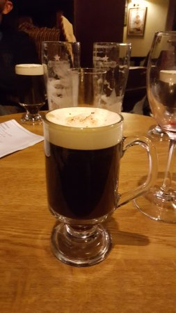 Clifden, Ierland: Irish coffee