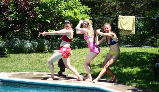 Thyme in the Country: Fun times by the pool