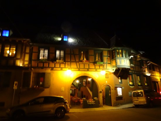 Scherwiller, France : Vers 23h00 !