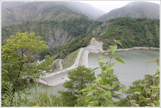 Luzon, Filippine: the dam view