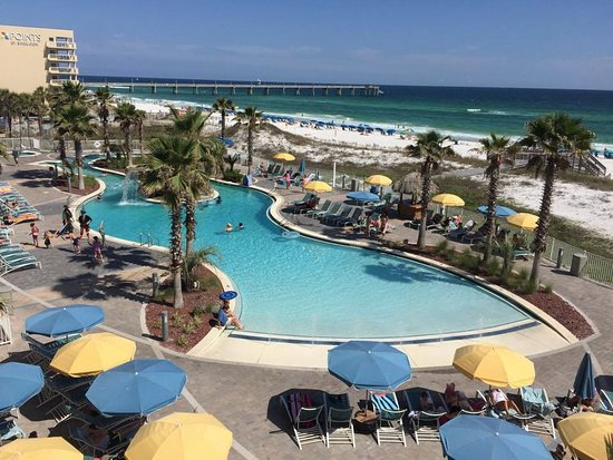 Holiday Inn Resort Fort Walton Beach The Pool Lazy River Area Taken From