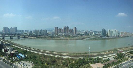 Quanzhou, Cina: Вид из окна впечатляет
