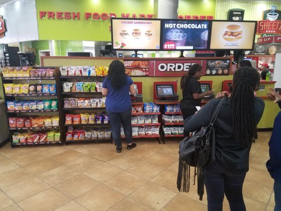 Statesville, NC: Front Counter for ordering food