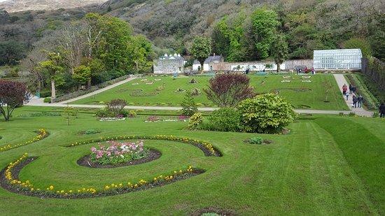 Kylemore, Irlandia: Les jardins