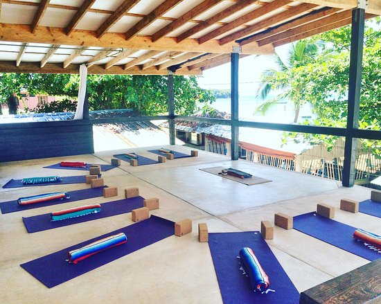 Little Corn Island, Nicaragua: Land Studio at Funk Yoga and SUP, Co.