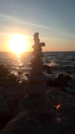 Vir, Kroatien: The most beautifull sunset of the world...