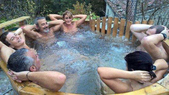 Marradi, إيطاليا: vasca idromassaggio
