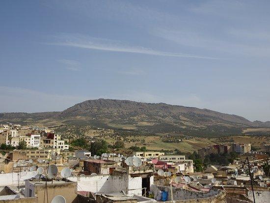 Riad Kettani: Vue de la terrasse
