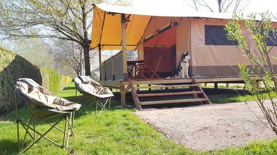 Celles-sur-Plaine, Frankrig: Nos lodges 5 personnes