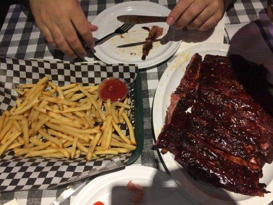 San Mateo, CA: bon gros ribs pour deux !