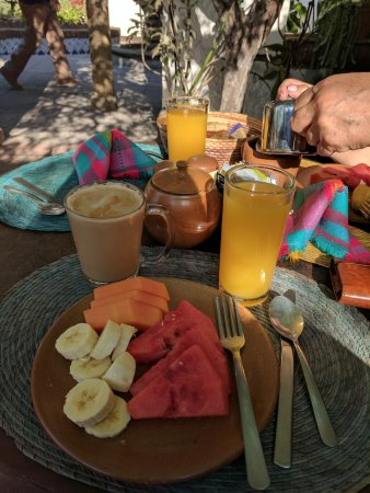 Quinta Don Jose Boutique Hotel: The free continental breakfast included