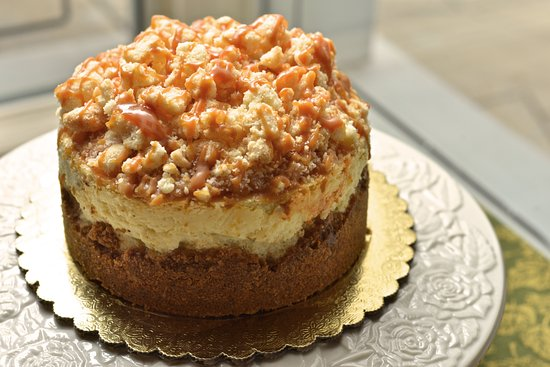 Akron, OH: Apple crunch cheesecake