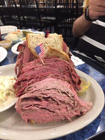 Edison, Nueva Jersey: Harold's deli sandwich, it was only my half