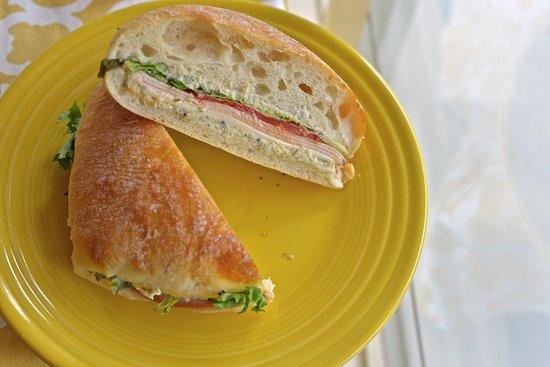 Akron, OH: Turkey Ciabatta Sandwich