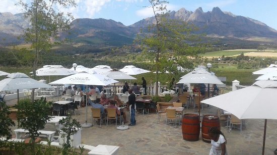 Wellington, Sudáfrica: Piza e Vino at Val du Charron