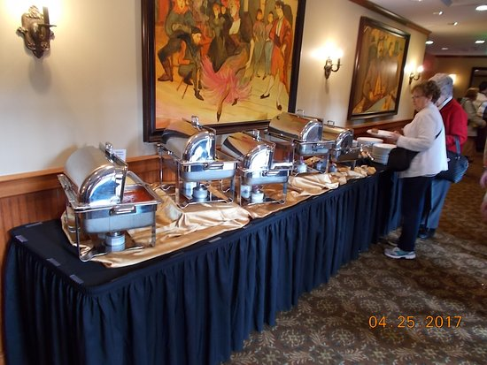 Pasta buffet picture of pierpont 39 s at union station for Best private dining rooms kansas city