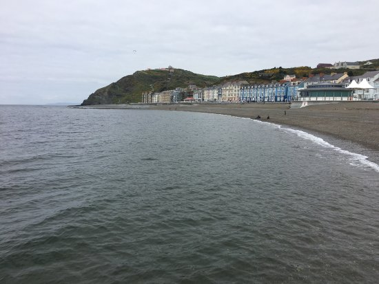 Aberystwyth, UK: The Seafront