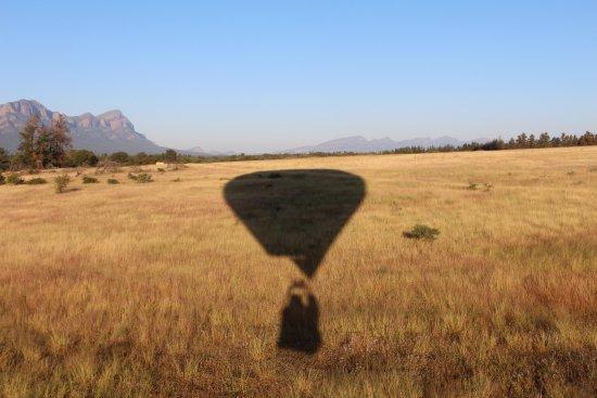 Hoedspruit, Νότια Αφρική: atterrissage en douceur