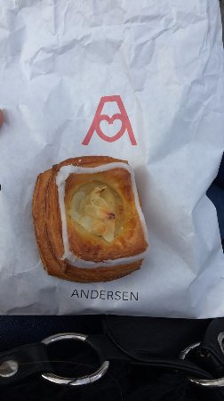 Andersen Bakery: Vanilla Custard Danish (mini)