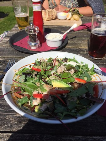 Odcombe, UK: Crab Salad
