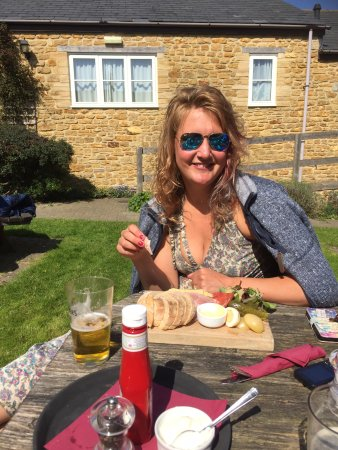 Odcombe, UK: Emma with everything !