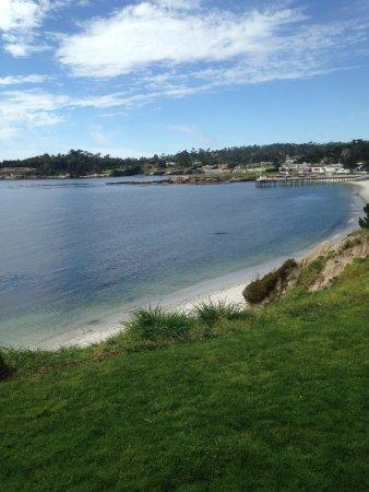 Pebble Beach, CA: coastline view.