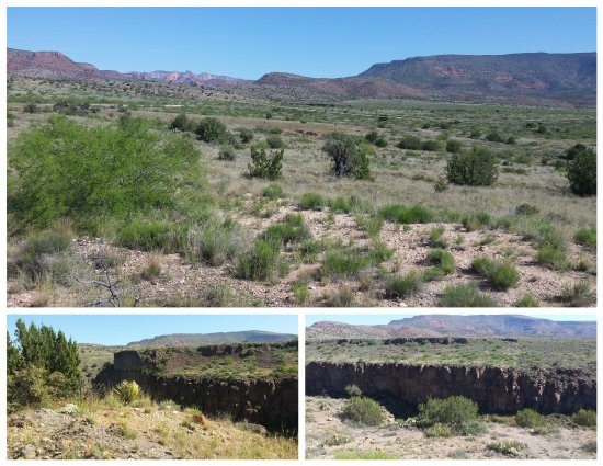 Clarkdale, AZ: The chasm was pretty deep