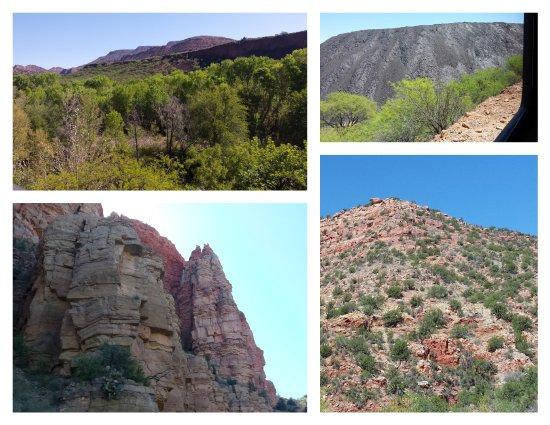 Clarkdale, AZ: Beautiful scenery along the Verde River