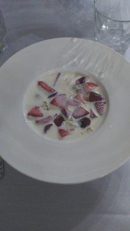 Restaurante Jose Maria : Fresas del lugar. Muy ricas
