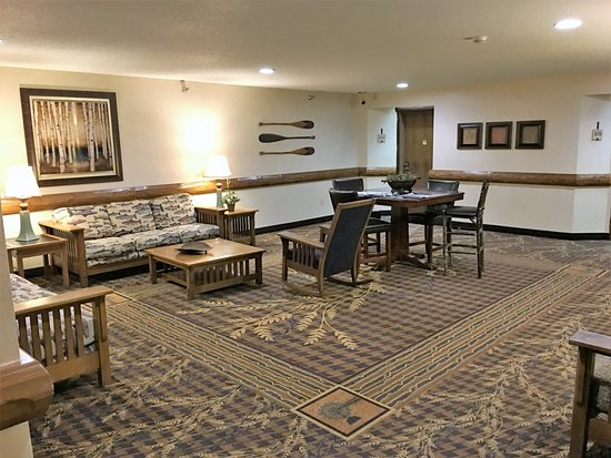 "Johnston, IA: Large, comfortable ""living room"" areas for relaxation and casual conversation."