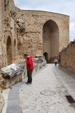 Fortaleza de la Mota: entree van het fort