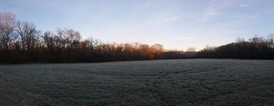 Columbia, TN: Frosty morning at Chickasaw Trace