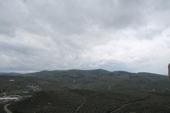 Fortaleza de la Mota: uitzicht omgeving