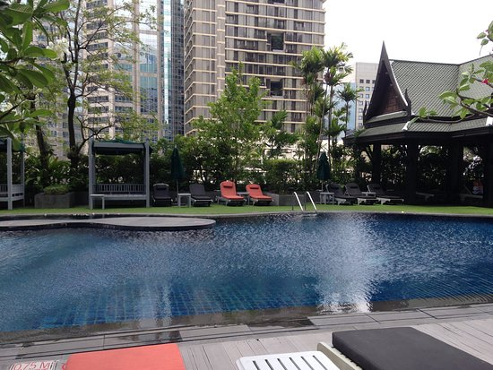 Terrasse / piscine - 플라자 아테네 방콕 로열 메르디앙 호텔, 방콕 ...