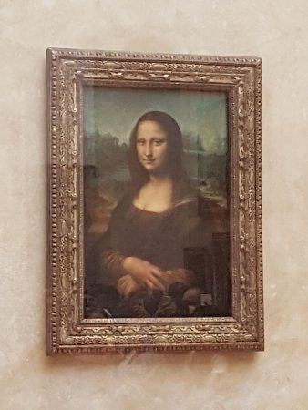 Super Mona Lisa, La Joconde Léonard de Vinci - Picture of Louvre Museum  XJ14