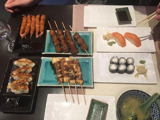 restaurant la maison de kyoto dans le vesinet avec cuisine