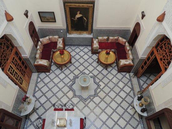 Dar Dalila: Sala principal do Riad