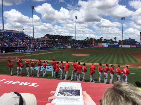 Port Saint Lucie, FL: St. Louis Cardinals Team - First Data Field March 28, 2017