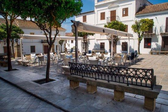 San Roque, Spanien: Terraza del bar