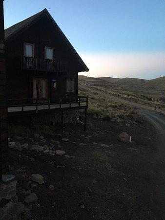 Afriski Mountain Resort: Log Cabins! perfect.