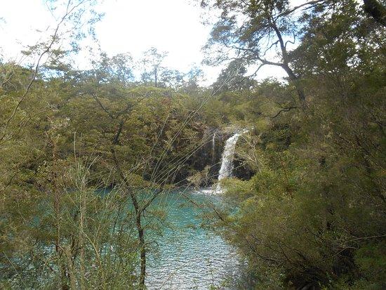 Parque Nacional Vicente Perez Rosales: Salto de los enamorados
