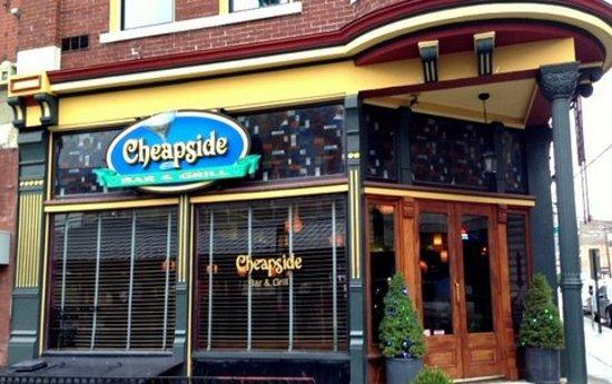 Cheapside bar and grill lexington ky