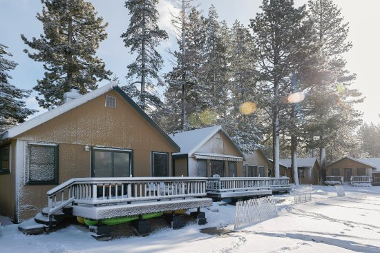 Tahoe Vista, CA: Lakefront cabins available