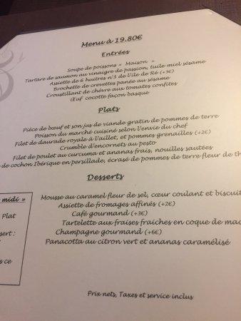 Photo2 Jpg Picture Of La Fleur De Sel La Rochelle Tripadvisor