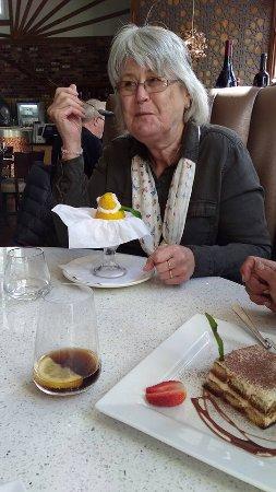 Bishops Stortford, UK: Lemon sorbet