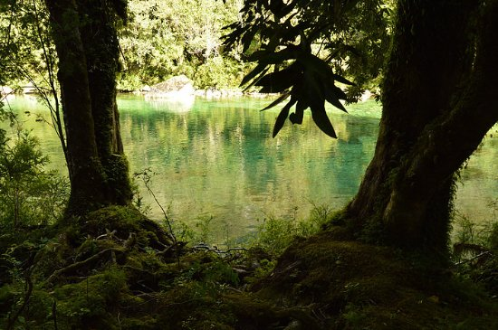 Cochamo, Chile: Cochamó river in La Frontera Lodge