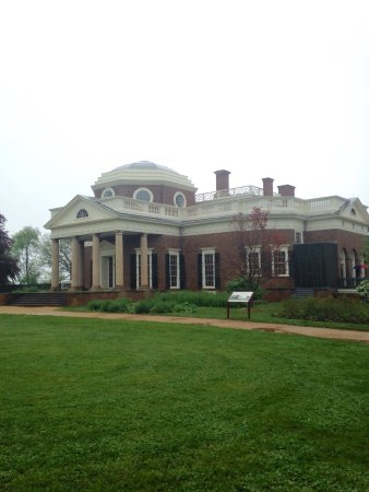 Palácio Monticello de Thomas Jefferson