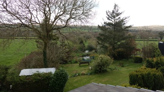 Lydford, UK: View of Garden
