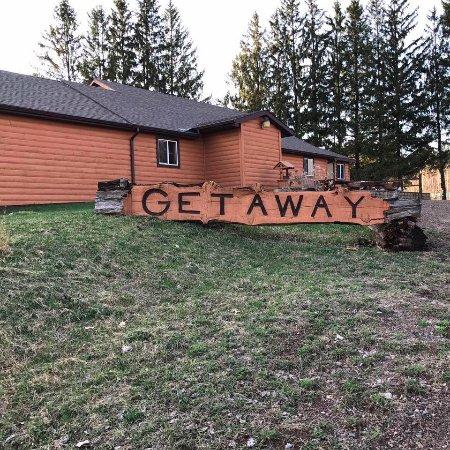 Sarona, WI: The Getaway front entrance